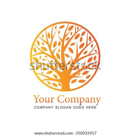 Tree logo concept - stock vector