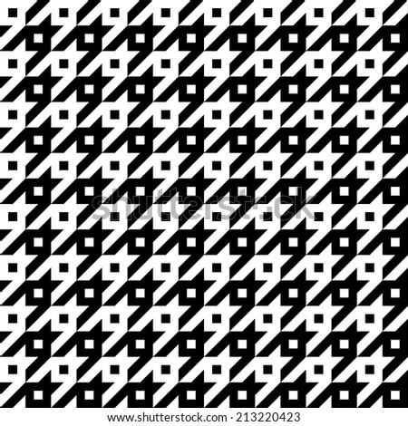 Trendy hounds tooth texture that tiles seamlessly as a pattern.  - stock vector