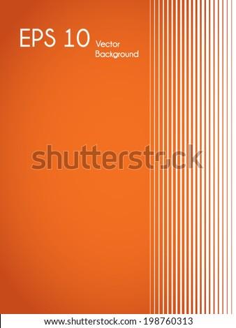 Trendy minimalist vector background - stock vector