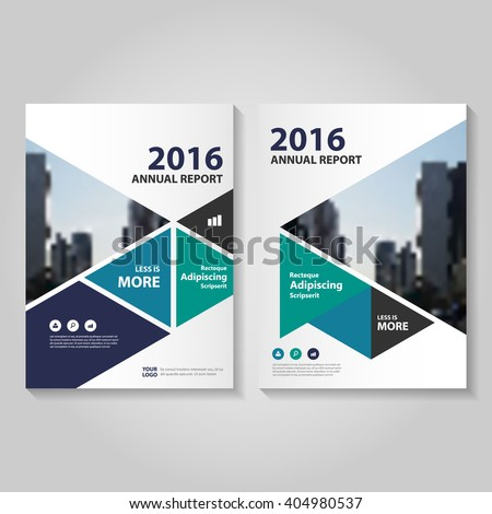 Annual Report Cover Design Template - Annual report design templates 2016
