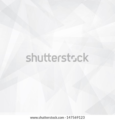 triangle modern white abstract background - stock vector