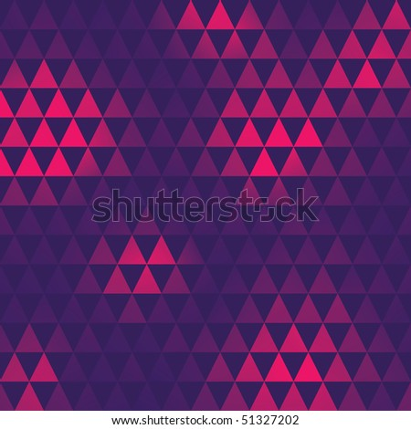triangle pattern, vector illustration - stock vector