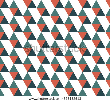 Triangular background. Seamless geometric pattern. Seamless abstract triangle geometrical background. Infinity geometric pattern. Vector illustration. - stock vector