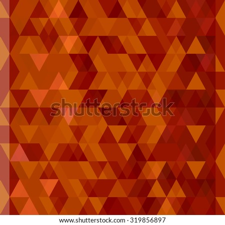 Triangular transparent pattern. Abstract background. - stock vector