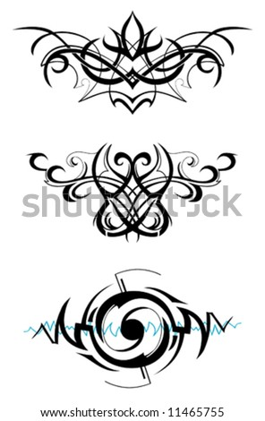 Tribal art - stock vector
