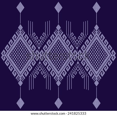 Tribal ethnic.Designs for fabric and printing.Abstract beautiful background. - stock vector