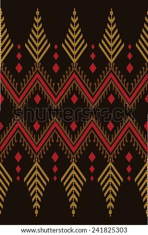 Tribal ethnic vector pattern. - stock vector