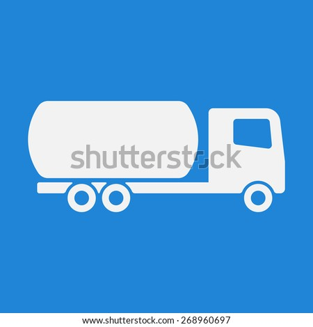 Truck icon,sign. Modern simple design,flat style. Vector illustration EPS8 - stock vector