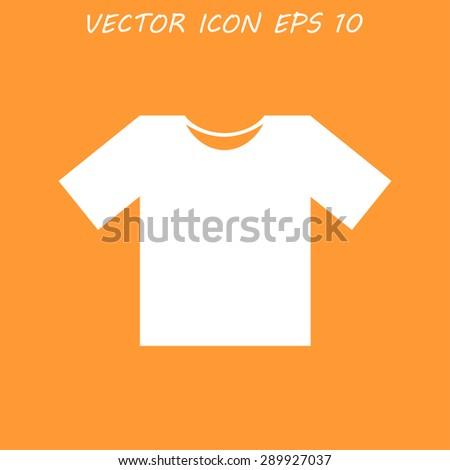 Tshirt Icon icon,  Flat Illustrator EPS 10 - stock vector