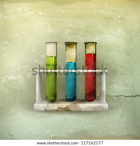Tubes icon, old-style vector - stock vector