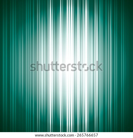 Turquoise Vector Background with Shiny Stripes. - stock vector