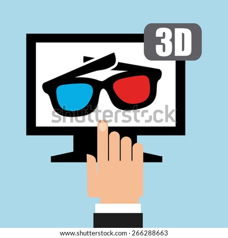 tv icon design,vector illustration eps10 graphic - stock vector