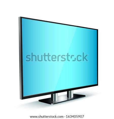 tv panel  - stock vector