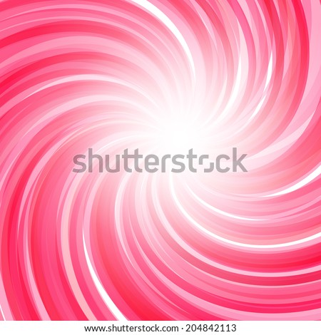Twisted candy background. Strawberry yogurt, peppermint candy, sweet backdrop - stock vector