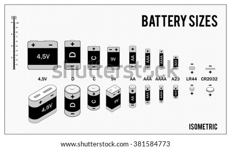 aaa batteries stock photos images pictures shutterstock. Black Bedroom Furniture Sets. Home Design Ideas