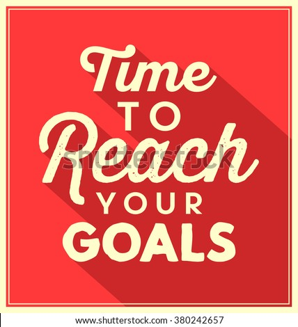 Typographic Background / Motivational Quote - stock vector