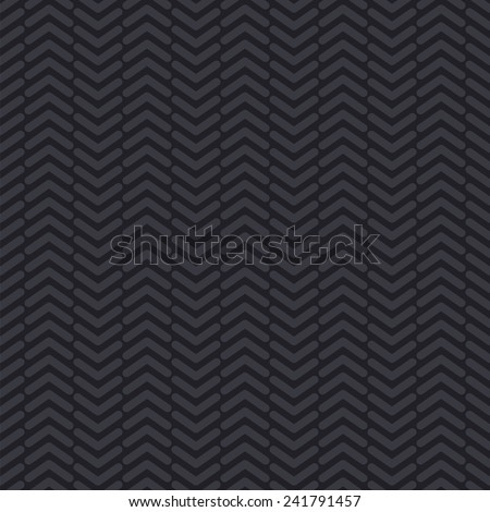 Tyre tread. Seamless vector pattern. The design element on the automotive theme. - stock vector
