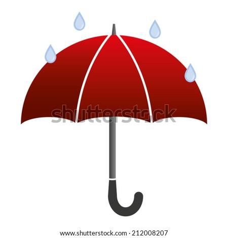 Umbrella - stock vector