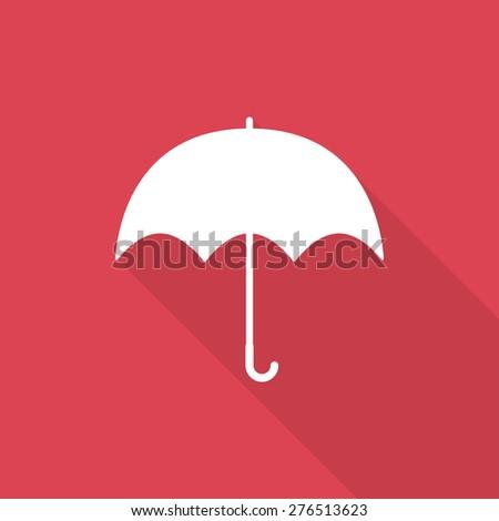 umbrella icon - stock vector