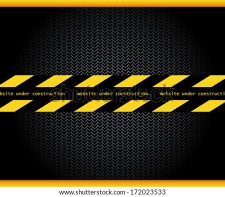 Under construction vector  - stock vector