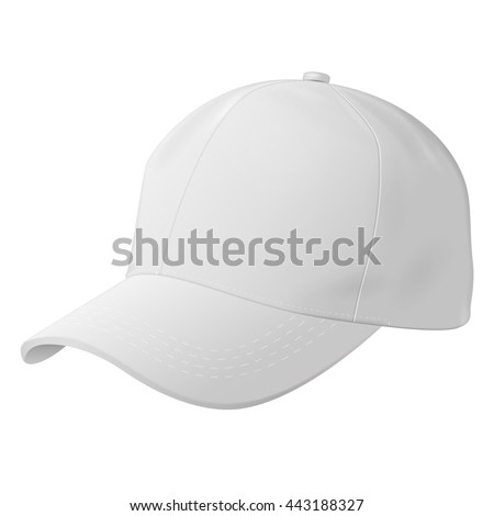 Unisex Outdoor Sport Baseball, Golf, Tennis, Hiking, Uniform Cap Hat. Illustration Isolated On White Background. Mock Up Template Ready For Your Design. Vector EPS10 - stock vector