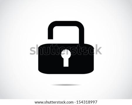 Unlock Icon - stock vector
