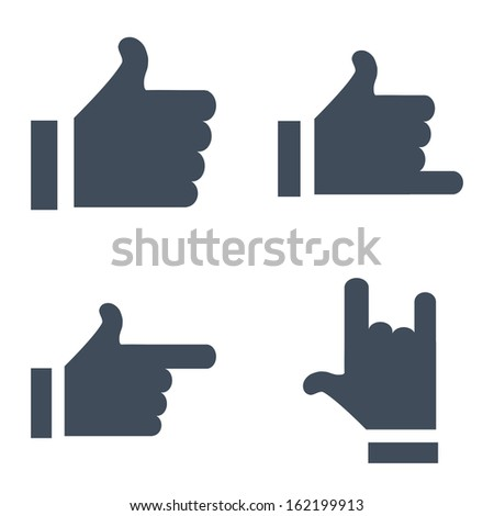 Updated versions of feedback buttons to use in the Internet or applications. - stock vector