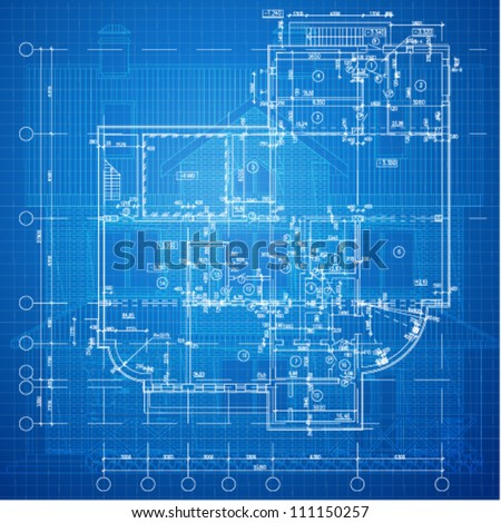 Blueprint stock photos images pictures shutterstock for Architecture blueprints