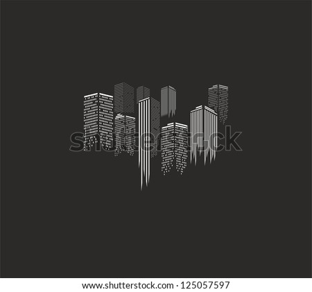 Urban cityscape - stock vector