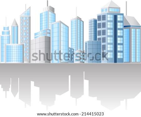 Urban cityscape - stock vector