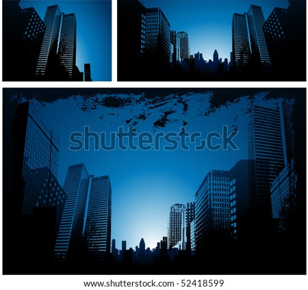 Urban design - stock vector
