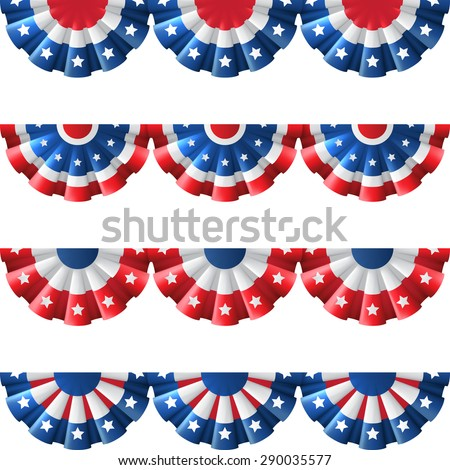 Bunting stock photos images pictures shutterstock for American decoration
