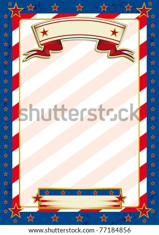 Us traditional background. A patriotic background for a poster. - stock vector