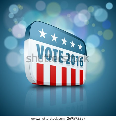USA Vote 2016 - stock vector