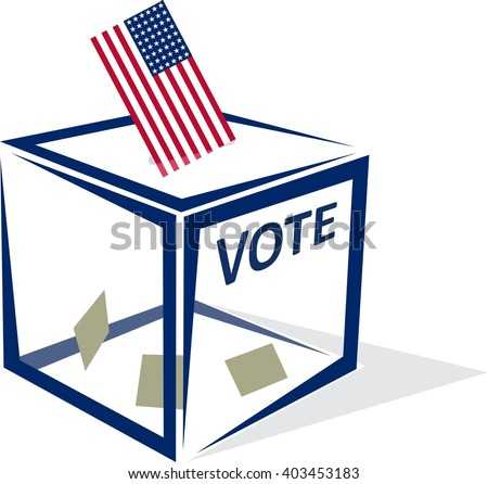 USA Vote - stock vector