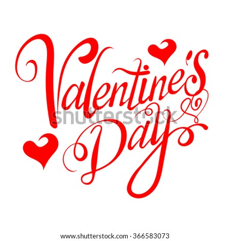 valentines day, valentines day ideas, happy valentine day, valentines day vector, valentine card, love message, love text, graphic design, vector illustration - stock vector