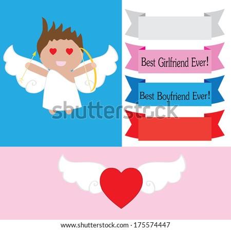 Valentines day vectors - stock vector