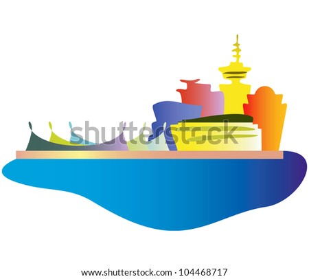 Vancouver city. - stock vector