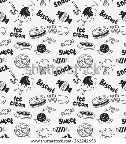 various sweet background - stock vector