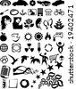 Various vector design elements illustration - stock vector