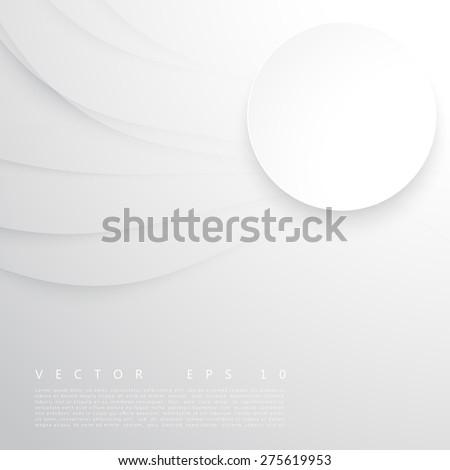 Vector abstract background design waves.  Brochure design templates collection  - stock vector