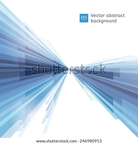 Vector abstract background. Dynamic shapes. - stock vector