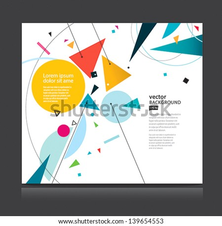 Vector abstract background EPS10 - stock vector