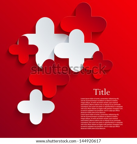 Vector abstract background. Eps10 - stock vector