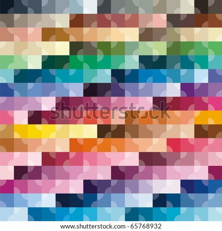 VECTOR - Abstract Colorful Background - 512 Colors Combination - Attractive Random Colors Wrapping - stock vector