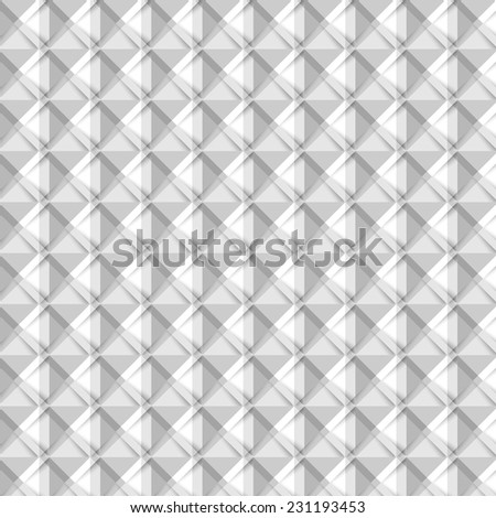 Vector Abstract geometry triangles bright blue pattern. Background - stock vector