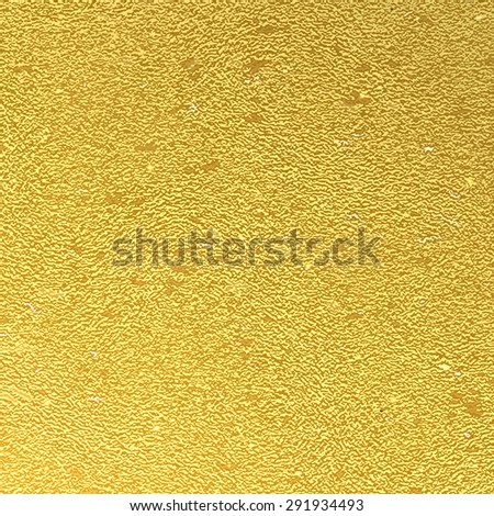 Vector abstract gold background foil - stock vector