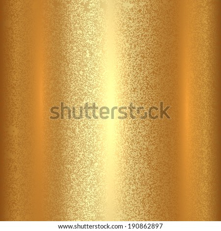 Vector abstract gold texture square  background - stock vector