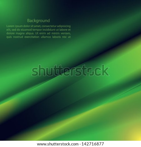 Vector abstract green backgrounds - stock vector