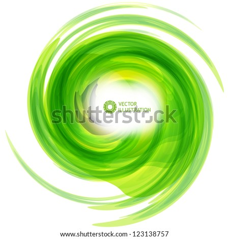 Vector abstract illustration. - stock vector